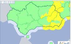 Aviso amarillo para este domingo por viento en Granada, Almería y Jaén