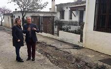 Diputación invierte más de 41.000 euros en la mejora de una importante calle de Bubión