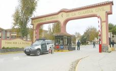 Obras en la Academia de la Guardia Civil de Baeza