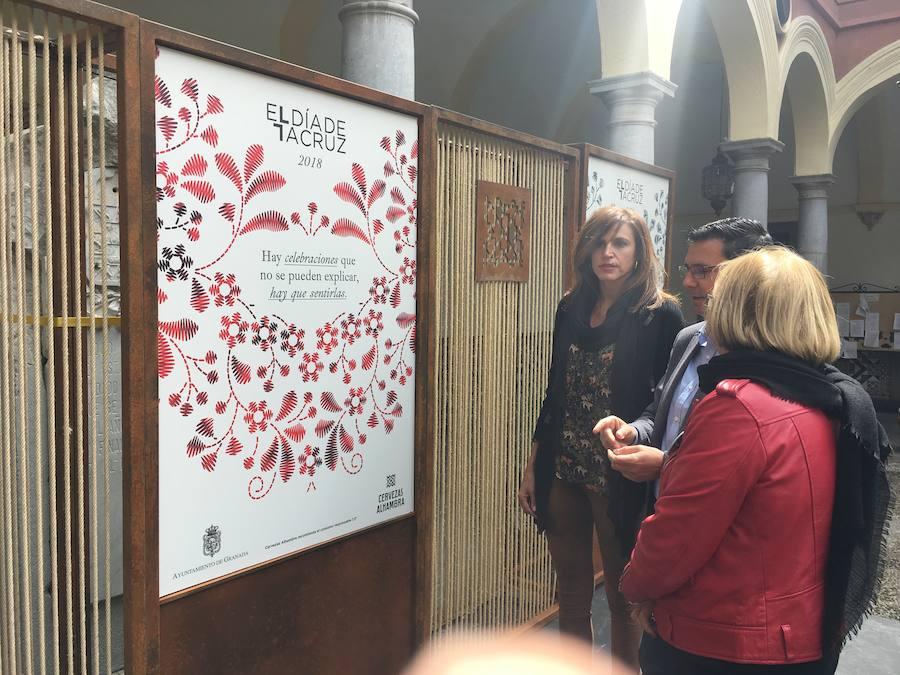 Presentan el cartel de la edición 2018 del Día de la Cruz en Granada