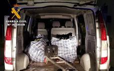 Cinco detenidos en el robo frustrado a una plantación de droga en un polígono de Las Gabias