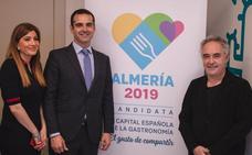 Ferran Adrià cree en Almería 2019 por sus «vegetales y los productos del mar»