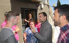 Maíllo visita también la calle Alegría