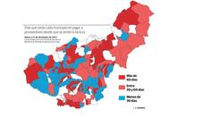 Los ayuntamientos de la provincia deben 126 millones a empresas en facturas pendientes