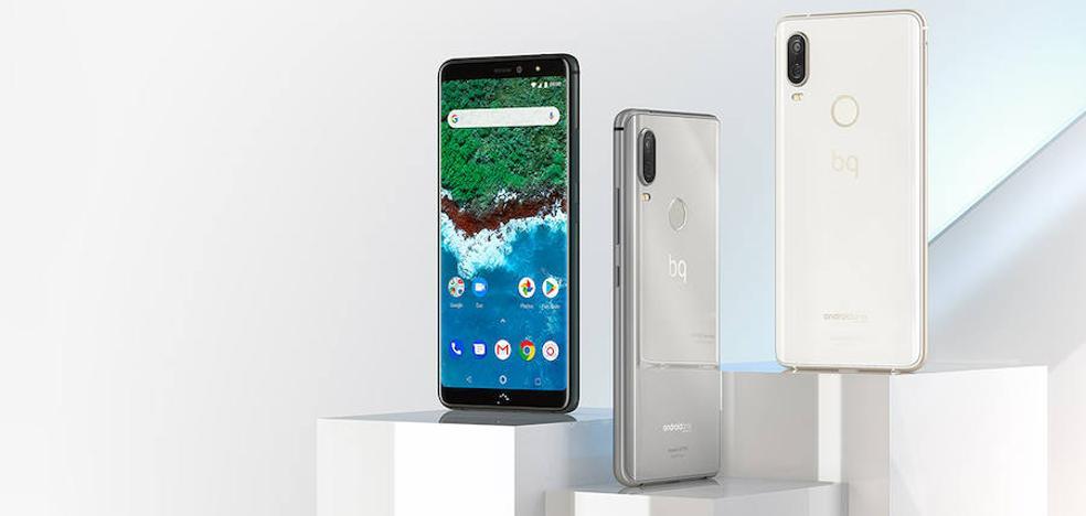 BQ lanza sus primeros móviles con cámara dual y trasera de cristal