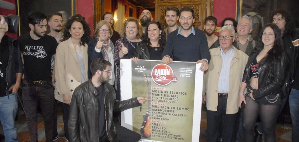 El Zaidín Rock 2018 sigue al alza y mantiene su apuesta por las bandas de Granada