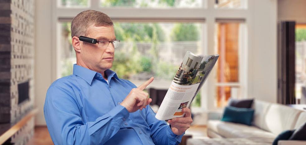 Gafas que permiten 'ver' a los ciegos