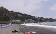 Así fue el duro rescate del parapentista fallecido: 40 minutos para sacarlo del mar