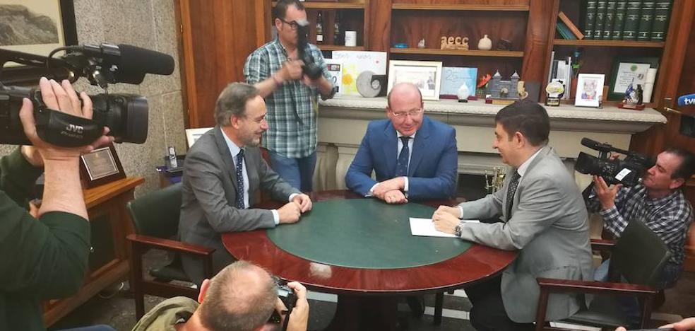 Acuerdo para que funcione el tranvía de Jaén, siete años después