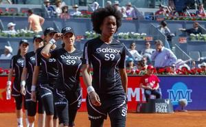 Maria Ke Fisherman viste a los recogepelotas de Mutua Madrid Open