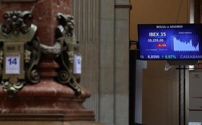 El Ibex-35 recorta pero se mantiene sobre los 10.250 puntos