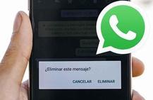 El peligro de 'eliminar mensaje enviado' en Whatsapp que muchos desconocen