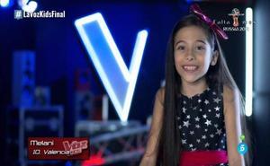 «Es un prodigio»: los espectadores se rinden ante Melani de 'La Voz Kids'