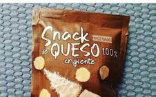 Así es el snack de queso 100% crujiente de Mercadona