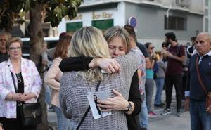 Dolor en la plaza del Carmen por el crimen de Las Gabias