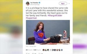 Hollywood llora la muerte de Margot Kidder a través de Twitter