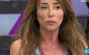 «Me sentí maniatada», la verdadera razón de las lágrimas de María Patiño en 'Sálvame Deluxe'