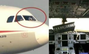 Pánico y caos en el avión al romperse un cristal en la cabina de los pilotos