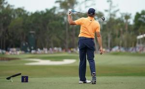 Sergio García pierde los papeles jugando al golf: «¿Buena bola? ¡Te quieres callar de una p*** vez!»