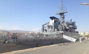 El patrullero de altura 'Serviola' hará escala en el puerto de Almería