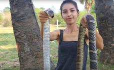 Se come animales en extinción, lo comparte en YouTube y acaba detenida