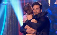 Así fue la «apasionante» actuación de Bustamante con su novia en 'Bailando con las estrellas'