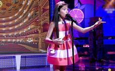 Melani, la ganadora de 'La Voz Kids', conquista a 'Sálvame' cantando ópera en directo