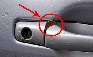 La Policía alerta del peligro de encontrar una moneda así en tu coche aparcado