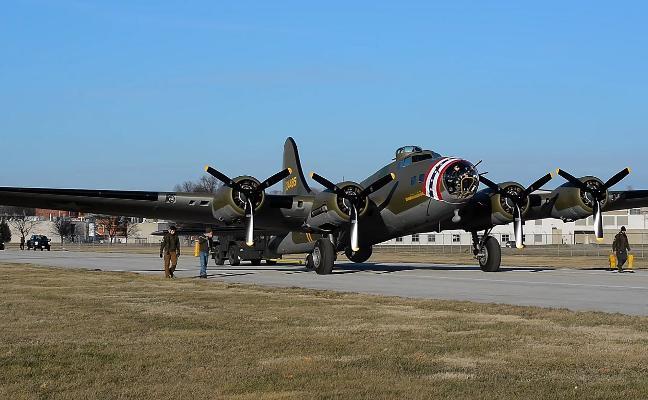 El mítico y bello avión que no sufrió ni un rasguño en la II Guerra Mundial