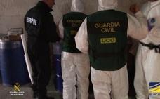 Hasta 100 millones de euros: descubren el mayor laboratorio de droga sintética de España en un búnker