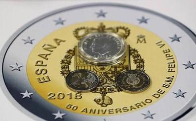 Lanzan monedas de 10, 50 y 400 euros por el aniversario de Felipe VI: ¿cómo son?