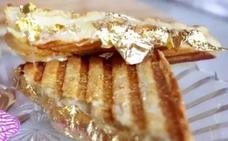 Cuesta un 'dineral' y lleva oro: así es el sándwich más caro del mundo