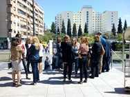 Jueces y fiscales de Granada secundan una nueva concentración para exigir mejoras en la justicia