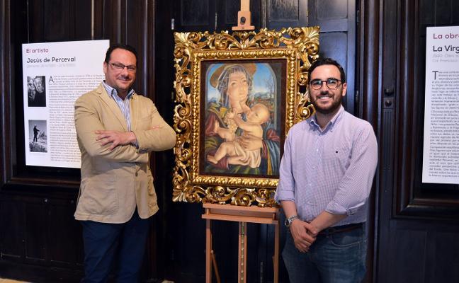 'La Virgen de las Uvas', de Perceval, obra invitada en el Museo de Arte Doña Pakyta
