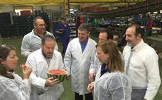 Agricultura confirma la «buena calidad» del melón y la sandía en la actual campaña