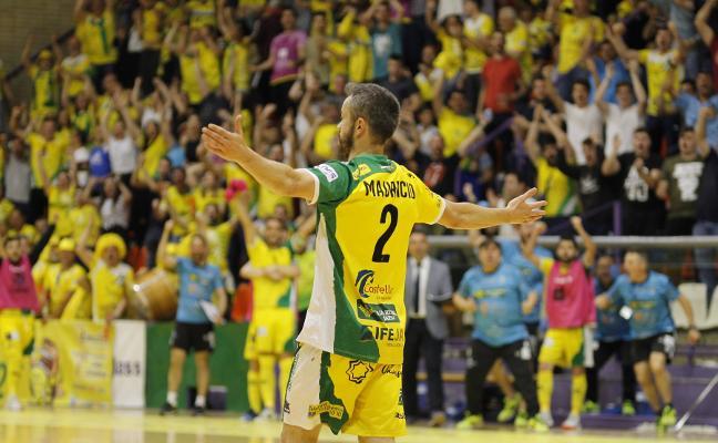 El Jaén Paraíso Interior FS, por primera vez en semifinales del play off por el título