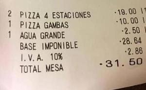 2,50 euros por un vaso de agua del grifo: los mayores sablazos en los restaurantes de España