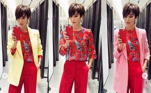 La famosa 'influencer' que enseña a combinar conjuntos de Zara desde los probadores