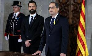 Torra pide por carta una reunión a Rajoy para dialogar sin límites ni condiciones