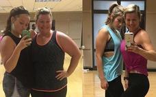 El truco de esta madre y su hija para perder 80 kilos entre las dos: «Somos un equipo»