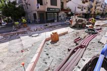 Las obras de la Avenida Andalucía de Almuñécar se pararán en junio y se rematarán después del verano