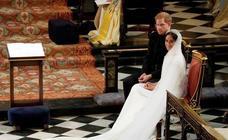 Así es el aplaudido vestido de Meghan Markle en la boda real
