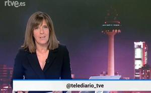 Ana Blanco revoluciona TVE al presentar el Telediario de negro y agita las redes