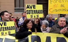 Marea Amarilla pide «fechas concretas» para reconexión y soterramiento ante la reunión de seguimiento del AVE