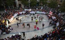 Seis manifestaciones paran este sábado el Centro de Granada