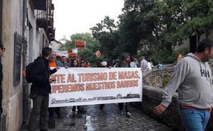 Las seis manifestaciones confluyen en la Plaza del Carmen