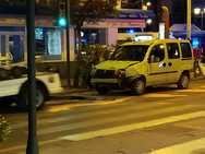 Un accidente en el cruce de con Méndez Núñez 'despierta' a Camino de Ronda