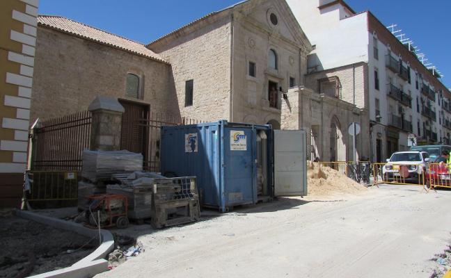 El pavimento de la plaza de Santa María será arreglado tras la Carrera de Jesús