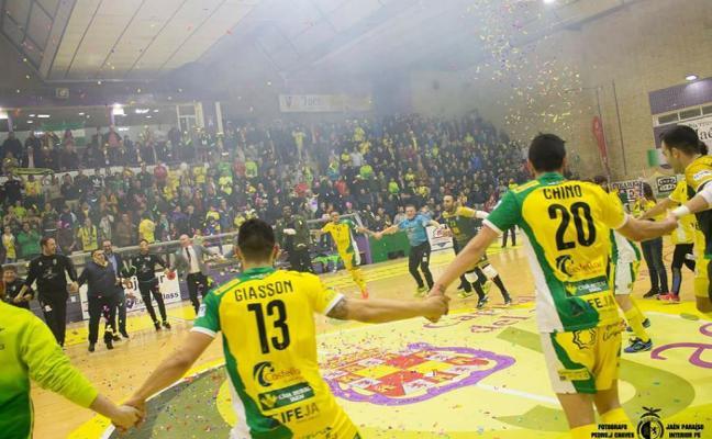 El Jaén Paraíso Interior FS da continuidad a una temporada pulverizadora de récords