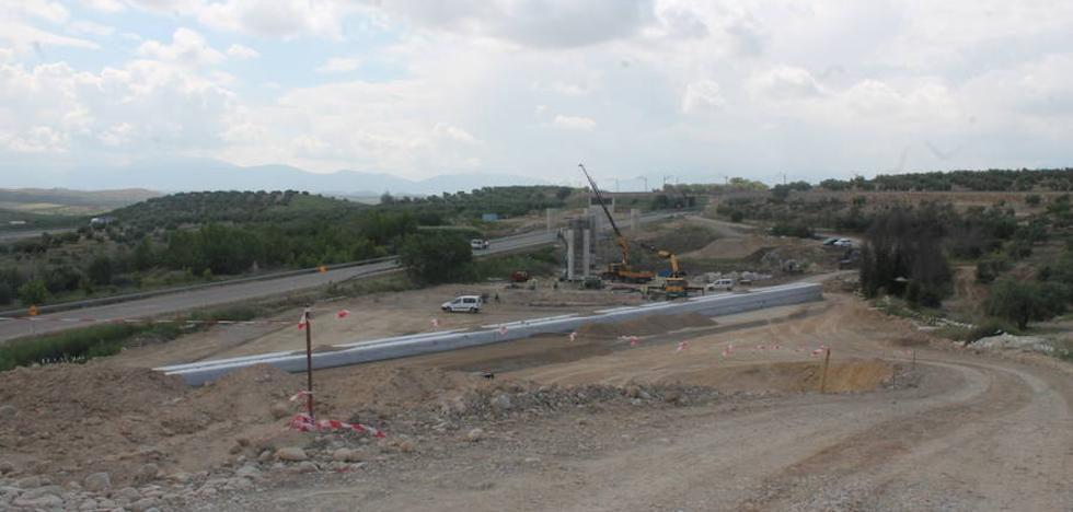 Un año para que terminen las obras de la Alta Velocidad en el tramo Grañena-Jaén